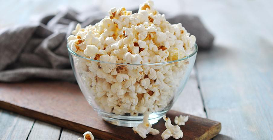 comment faire du pop-corn salé